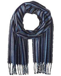 Perry Ellis - Multi Stripe Woven Scarf - Lyst