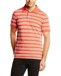62134f3685c4 Timberland - Clothing Ss Yd Kennebec Rvr B Striped Sleeve Polo Shirt - Lyst