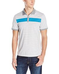 CALVIN KLEIN 205W39NYC - Short Sleeve 3 Button Engineered Polo - Lyst