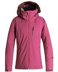 Roxy - Down The Line Snow Jacket - Lyst