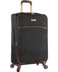 """Anne Klein - 21"""" Expandable Softside Spinner Carryon Luggage - Lyst"""