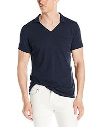 French Connection - Lunar Jersey Polo Shirt - Lyst