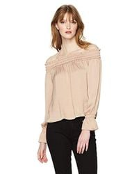 Guess - Off The Shoulder Bethany Top - Lyst
