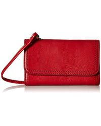 Frye - Claude Phone Wallet Leather Crossbody Bag - Lyst