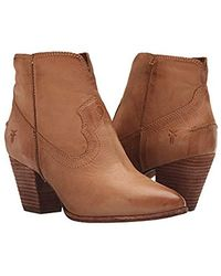 Frye - Renee Seam Short Boot - Lyst