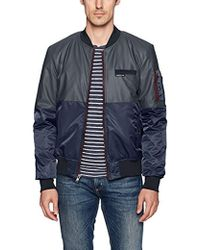 Members Only - Deftone Bomber Jacket - Lyst