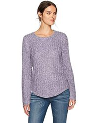 Jones New York - Easy Fit Pullover With Shirtail Hem - Lyst