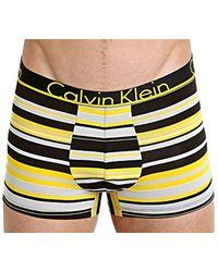 Calvin Klein Underwear Id Trunk - Yellow