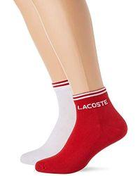 f183f68a8c Chaussettes Lacoste homme à partir de 9 € - Lyst