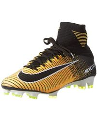 a63b3fafd Nike Mercurial Superfly V Sg Pro Men s Football Boots In Green in ...