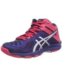Women's Red Gel beyond 5 Mt Indoor Court Shoes (b650n)