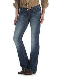 571e671f Wrangler Retro Sadie Low Rise Jeans (dark Wash) Jeans in Blue - Lyst