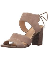 1b78e2467488 Lyst - Ivanka Trump  ellyn  Lace-up Sandal in Brown