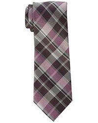 CALVIN KLEIN 205W39NYC - Plaid Tie - Lyst