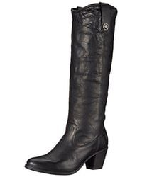 Frye - Jackie Button Riding Boot - Lyst