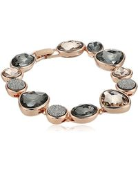 Kenneth Cole - Supercharged Collection Black Diamond, Blush And Druzy Stone Bracelet - Lyst