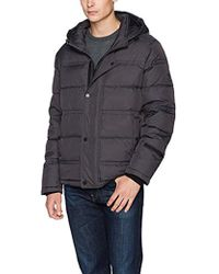Kenneth Cole - Hooded Down Jacket - Lyst