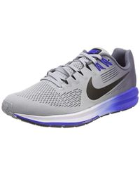 5c5b27aa623 Nike Air Zoom Structure 22 Shield Running Shoes for Men - Lyst