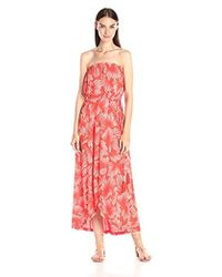 Lucky Brand - Radial Floral Dress - Lyst