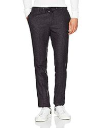Tommy Hilfiger - Active Pant Neppy Wool Mix Trousers - Lyst