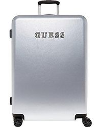 "Guess - Mimsy 28"" Spinner 8-wheeler Silver Metalic - Lyst"