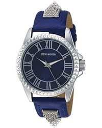 Steve Madden - S Alloy Band Watch - Lyst