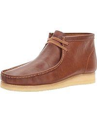 Clarks Wallabee Shoe - Brown