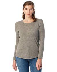 Alternative Apparel - Keepsake Long Sleeve T-shirt - Lyst