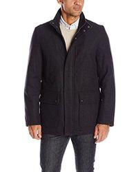 Dockers - Wool Melton Two Pocket Full Length Duffle Coat - Lyst