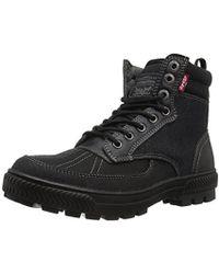 Levi's - Dayton Denim Fashion Boot, Black, 9.5 M Us - Lyst