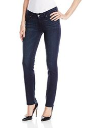PAIGE - Skyline Straight-leg Jean In Vista - Lyst