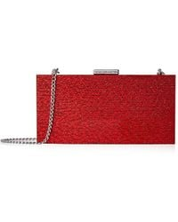 French Connection - Baxter Lucite Clutch, Red - Lyst