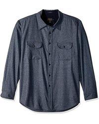 Pendleton - Long Sleeve Button Front Fitted Maverick Merino Shirt - Lyst