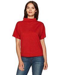 Pendleton - Cotton Cashmere Soft Mockneck Pullover Sweater - Lyst