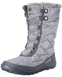 Columbia - Minx Mid Ii Oh Twill Snow Boot - Lyst