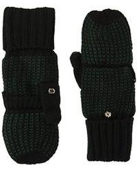 CALVIN KLEIN 205W39NYC - Birdseye Flip Top Glove With Fuzzy Lining Accessory - Lyst