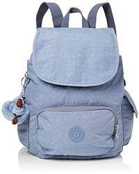 4746f6d9b2f Kipling City Pack S Backpack Handbags in Blue - Save 13% - Lyst