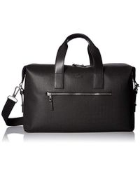 Lacoste - Chantaco Weekender, Nh2185ce, Black, 00 - Lyst