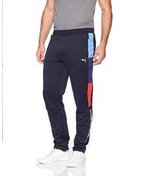 c178141c5a5e Lyst - PUMA Bmw Fleece Jogger Pants in Gray for Men