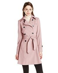 Trina Turk - Juliette Double-breasted Trench Coat - Lyst