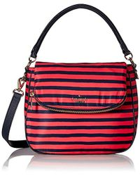 9be95754080 Lyst - Kate Spade New York Classic Small Devin Crossbody in Red