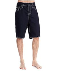 True Religion - Ricky Big T Board Shorts - Lyst