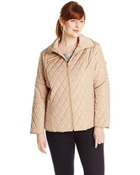 Jessica Simpson - Plus-size Mixed-quilt Jacket - Lyst