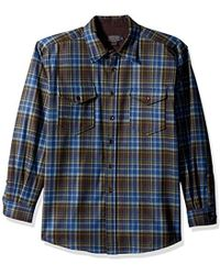 Pendleton - Long Sleeve Button Front Classic-fit Guide Shirt - Lyst
