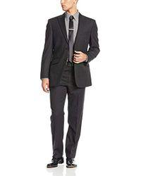 Jones New York - Mercer 2 Button Side Vent Suit With Flat Front Pant Peak - Lyst