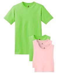 Hanes - Comfortsoft Short Sleeve T-shirt - Lyst