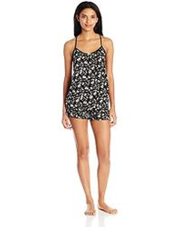 Juicy Couture - Black Label Cami And Tap Short Pajama Set - Lyst