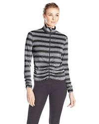 CALVIN KLEIN 205W39NYC - Performance Rouched Fitness Jacket - Lyst