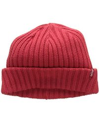 Levi s - Ribbed Beanie Hat - Lyst 5ad7d969232a