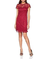3d236fca43 Dorothy Perkins - Hattie High Neck Lace Fit And Flare Knee-length Party  Dress -